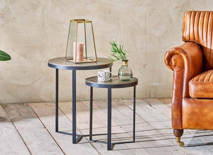 Maba Nesting Side Tables at Oak and Ash Home