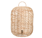 Load image into Gallery viewer, Noko Wicker Lamp - Large at Oak and Ash Home