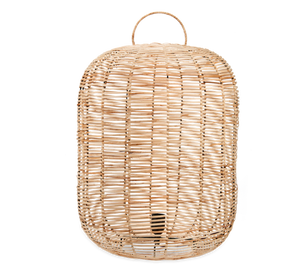 Noko Wicker Lamp - Large at Oak and Ash Home
