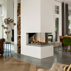 BELLFIRES ROOM DIVIDER GAS FIRE -MEDIUM at Oak and Ash Home