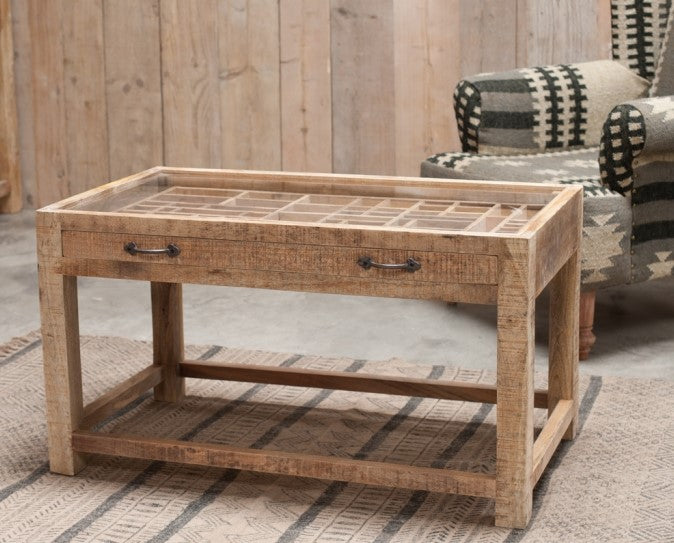 Tansa Printer Drawer Coffee Table - DUE MAY '21 at Oak and Ash Home