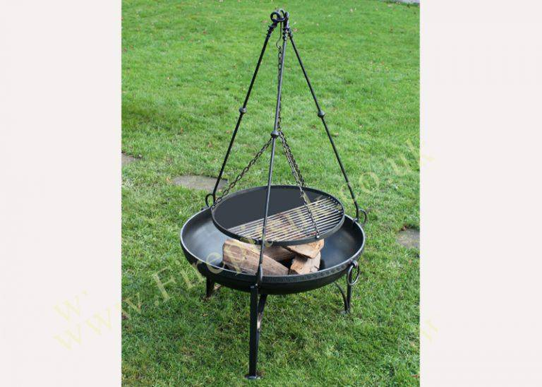 Cooking Tripod for fire pit - Small for 60/70 Bowls at Oak and Ash Home