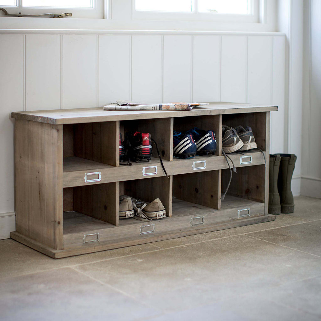 Chedworth Shoe Locker Spruce at Oak and Ash Home