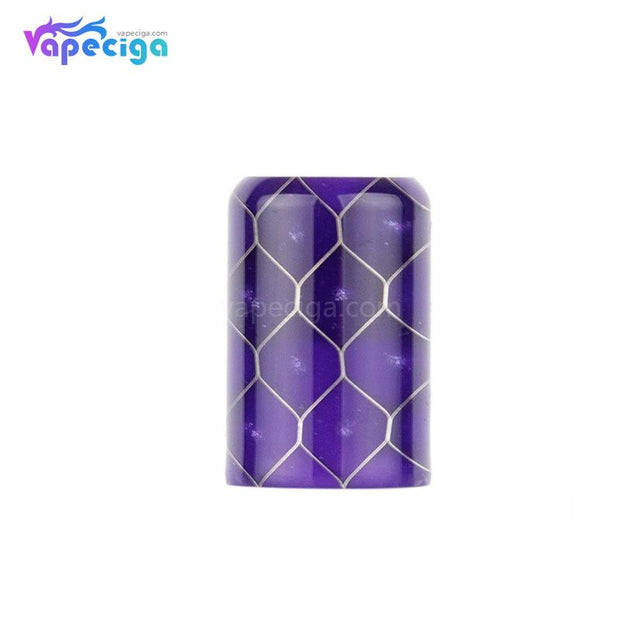Purple REEVAPE AS246S Resin Replacement Drip Tip