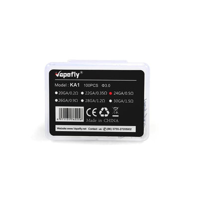 Vapefly KA1 Coil for E Cigarette 100pcs 24GA