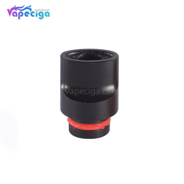 Black 510 Big Whistle Drip Tip Stainless Steel + POM + PEI