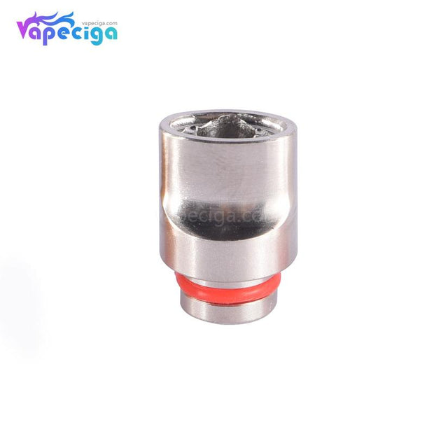 SS 510 Big Whistle Drip Tip Stainless Steel + POM + PEI