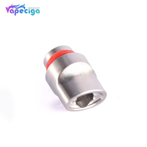 SS 510 Big Whistle Drip Tip Stainless Steel + POM + PEI Bottom Display