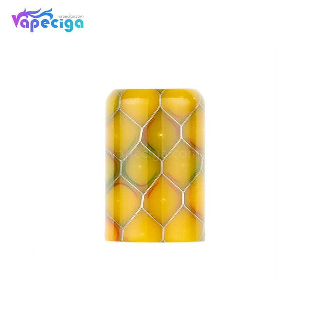 Yellow REEVAPE AS246S Resin Replacement Drip Tip