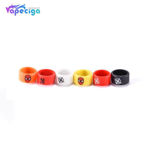 Anti-slip Silicone Beauty Ring for Tank 22*12mm Widened & Thickened Version 20PCs