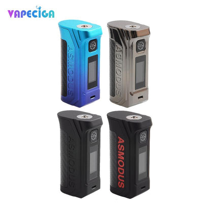 4 Asmodus Amighty TC Box Mod Colors Choose