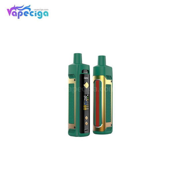IJOY JUPITER Pod System VW Starter Kit 70W Golden Green