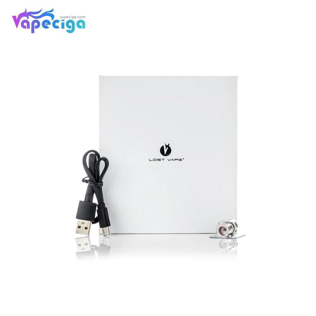 Lost Vape Q-ULTRA Pod System VW Starter Kit 40W 1600mAh 4ml Package