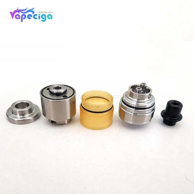 SXK Alpha Style RTA 316SS 2.8ml 22mm