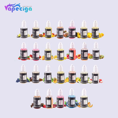 Seven E-liquid 40PG / 60VG 0mg / 3mg 30ml 26 Flavors