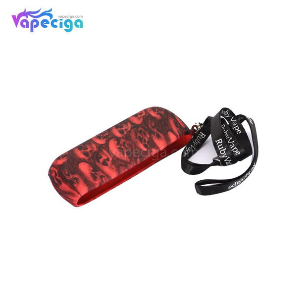 Silicone Protective Case with Skull Pattern for IQOS 3.0 - Details