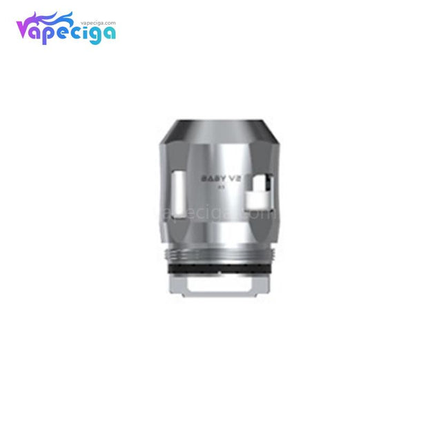 Smok TFV8 Baby V2 A3 Replacement Coil Head Silver