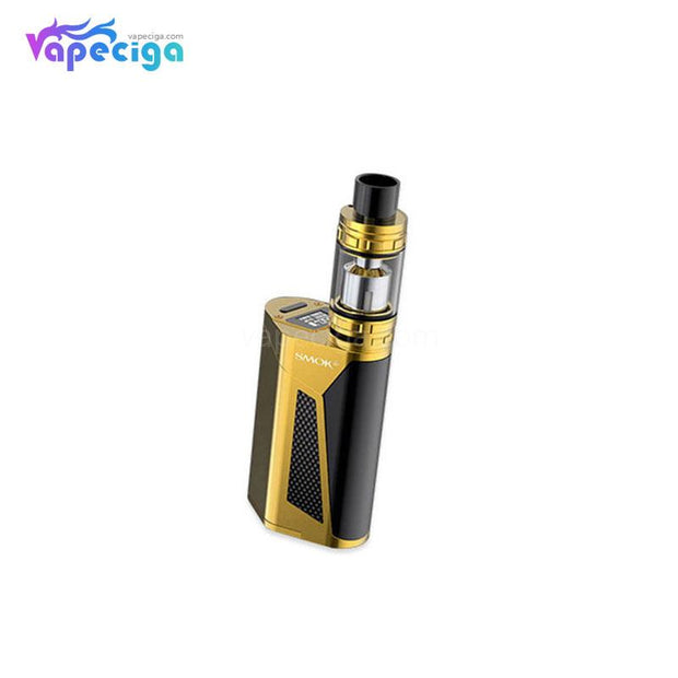 Smok GX350 TC Mod Kit with TFV8 Tank 350W 6ml Gold + Black