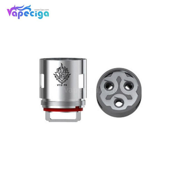 Smok V12-T6 Replacement Coil Head Details