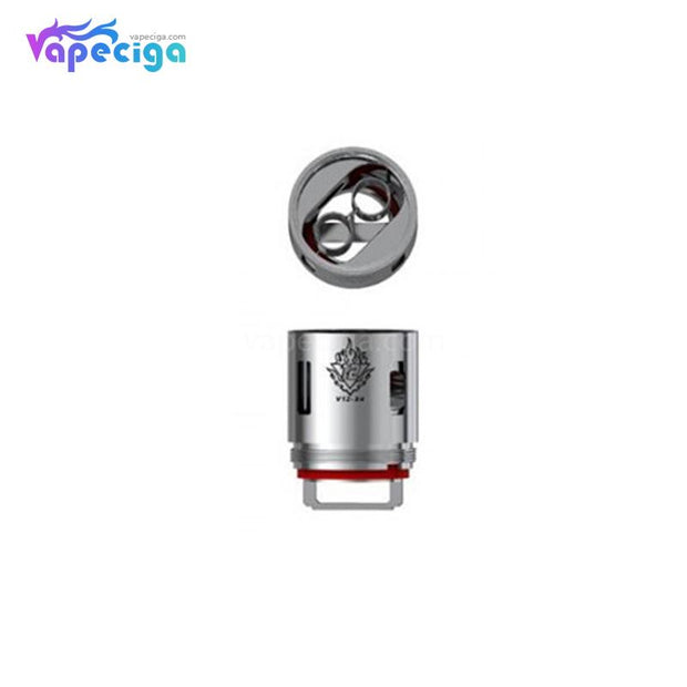 Smok V12-X4 Replacement Coil Head Details