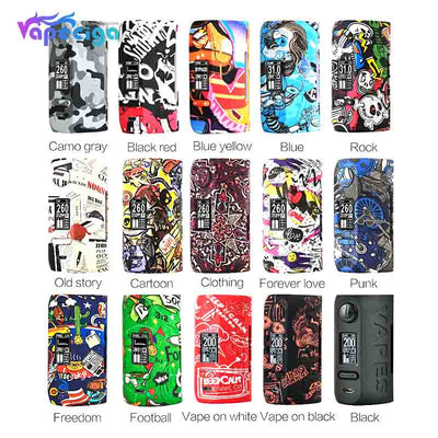 Vapor Storm Puma TC Box Mod 200W Colors Available