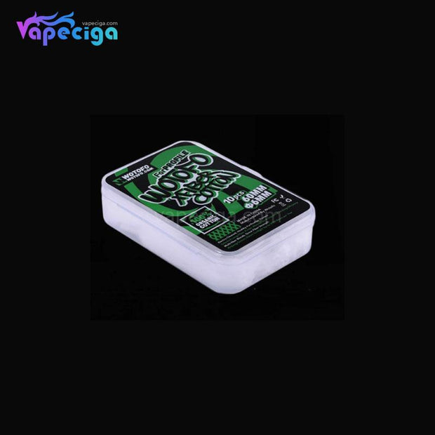 WOTOFO Vape Wicking Xfiber Cotton 6mm Details