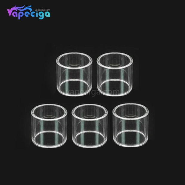 YUHETEC Replacement Straight Pharaoh Mini RTA Tank Tube 2ml 5PCS