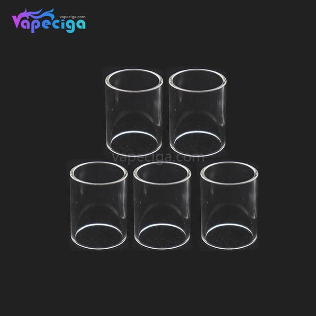 YUHETEC Replacement Straight Pharaoh Mini RTA Tank Tube 5ml 5PCS