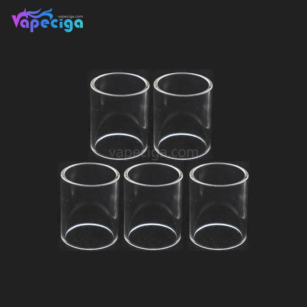 YUHETEC Replacement Straight Pharaoh RTA Tank Tube 4.6ml 5PCS