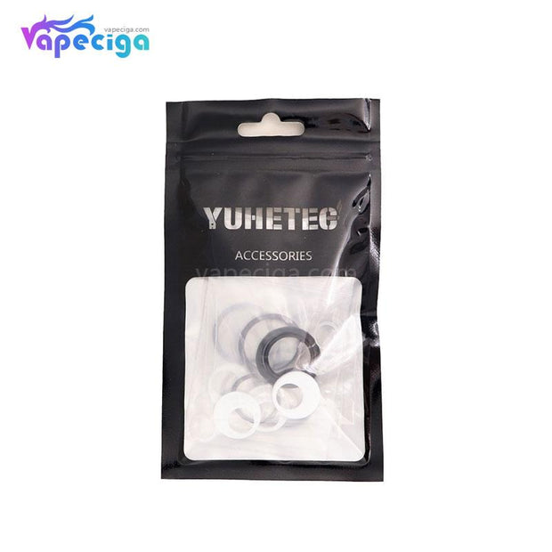 Black YUHETEC Sealing Ring Bag for Smok TFV8 Baby V2 Package