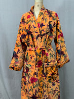 Load image into Gallery viewer, Velour Cotton Lined Robe