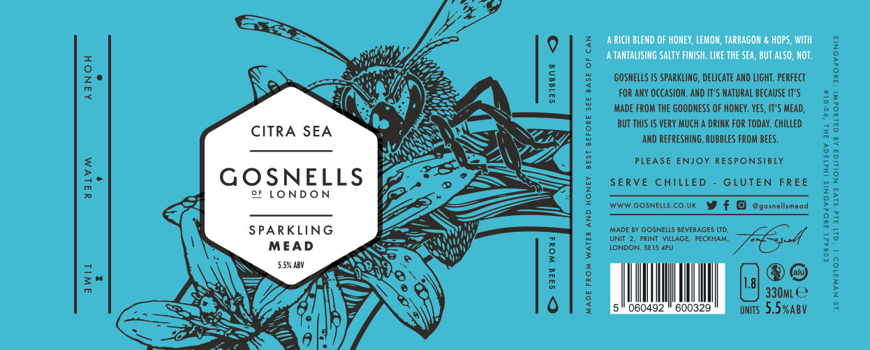 GOSNELLS Citra Sea Mead