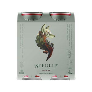 SEEDLIP RTD 4-pack Spice 94 & Grapefruit Tonic