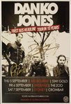 Danko Jones - Signed 2019 Australian Tour Poster.