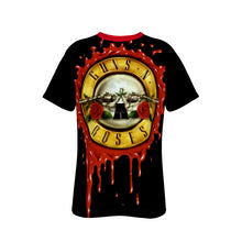 Load image into Gallery viewer, Guns N Roses All-Over Print T-Shirt