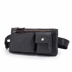Quality Leather Travel Waist Bag