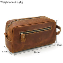 Load image into Gallery viewer, Genuine Leather Multipurpose  Bag Cowhide