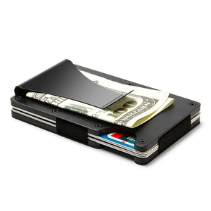 Anti-magnetic Bank Card & Money Clip