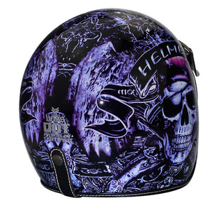 Open Face Motorcycle Helmet Customized