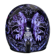 Load image into Gallery viewer, Open Face Motorcycle Helmet Customized