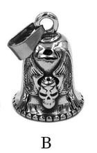 Load image into Gallery viewer, Biker Bell Pendant Stainless Steel