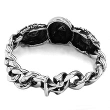 Load image into Gallery viewer, Hands Skull Bracelet Stainless Steel