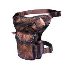 Load image into Gallery viewer, Real Leather Drop Leg Bag