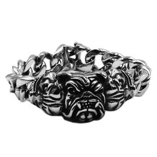 Load image into Gallery viewer, Bull Dog Bracelet Stainless Steel