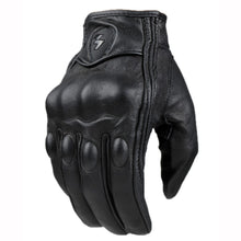 Load image into Gallery viewer, Retro Genuine Leather Motorcycle Gloves