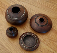 Decorated Hollow Forms Set of 4