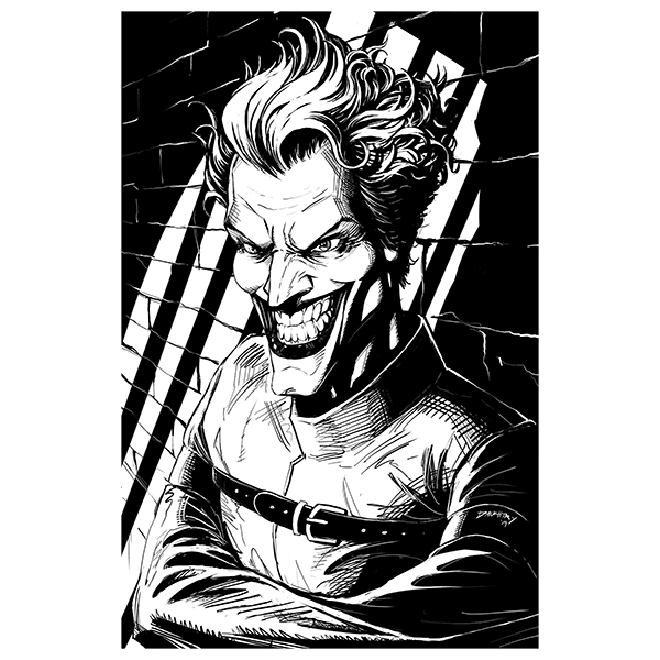 Joker Screen Print