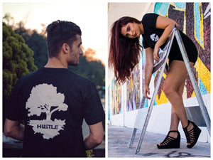 Black Hustle Tee, T-shirt