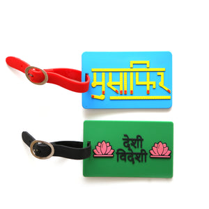 DESI VEDESI AND MUSAFIR LUGGAGE TAG COMBO