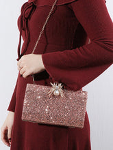 Load image into Gallery viewer, Rose-Gold-Color Elegant Alloy Clutches